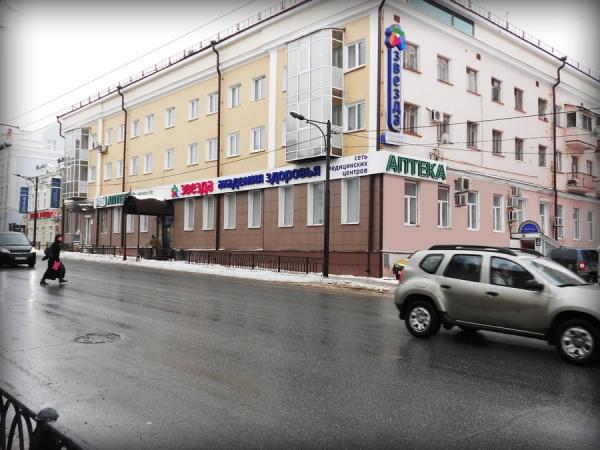 Фасадная вывеска для аптеки «36,6» и сети медицинских центров «Академия здоровья «Звезда»