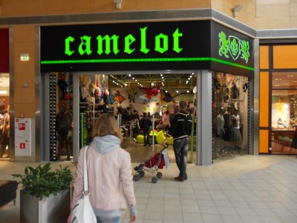 Новый клиент компании «3 АРТ» – салон одежды Camelot