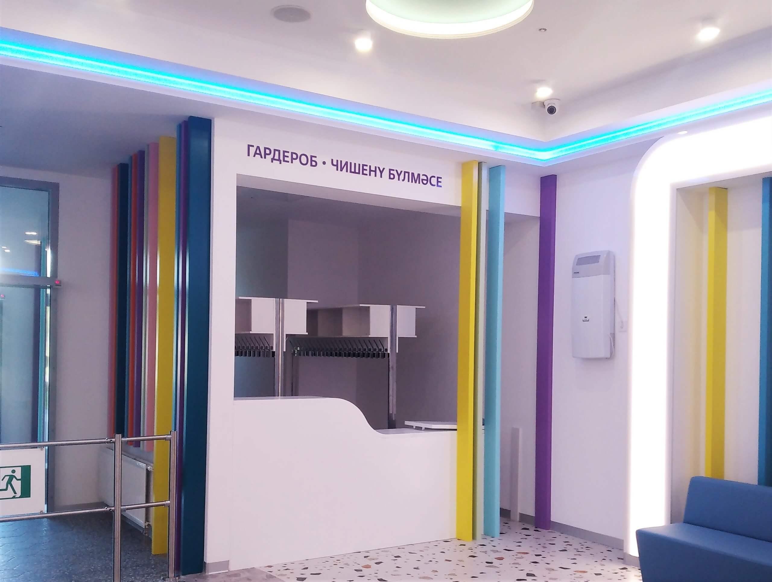 Центр детской онкологии, гематологии и хирургии, ДРКБ, г.Казань